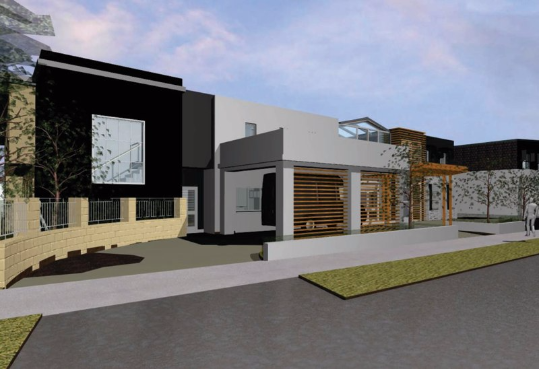 South west sydney integrateddesigngroup architects for Courtyard designs bathurst