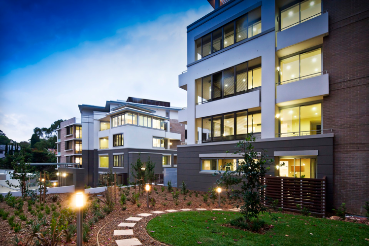 Savannah apartments lindfield integrateddesigngroup for Courtyard designs bathurst