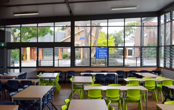 Classroom Design Tumblr ~ French school canteen integrateddesigngroup architects