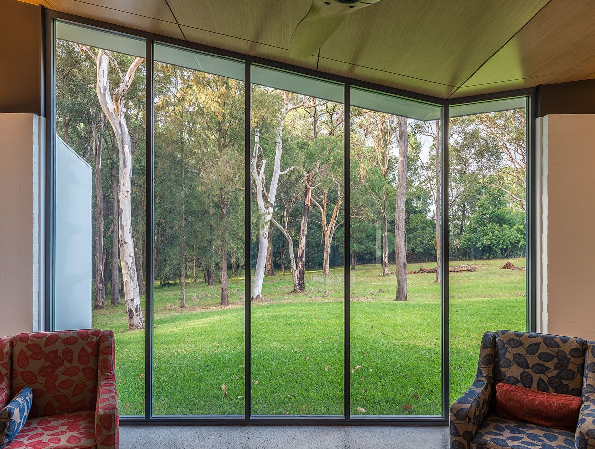 kenthurst house window view