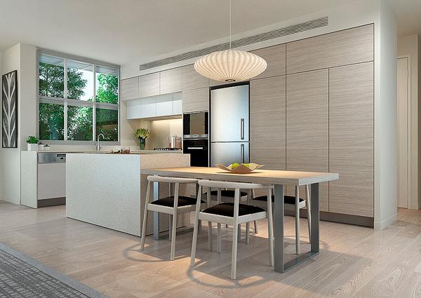 Scenic Apartment Kitchen