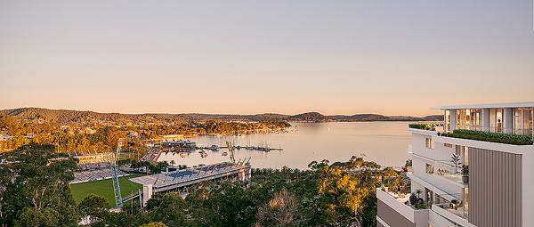 Scenic Apartment coastal view