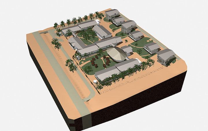 hope of the nations school masterplan