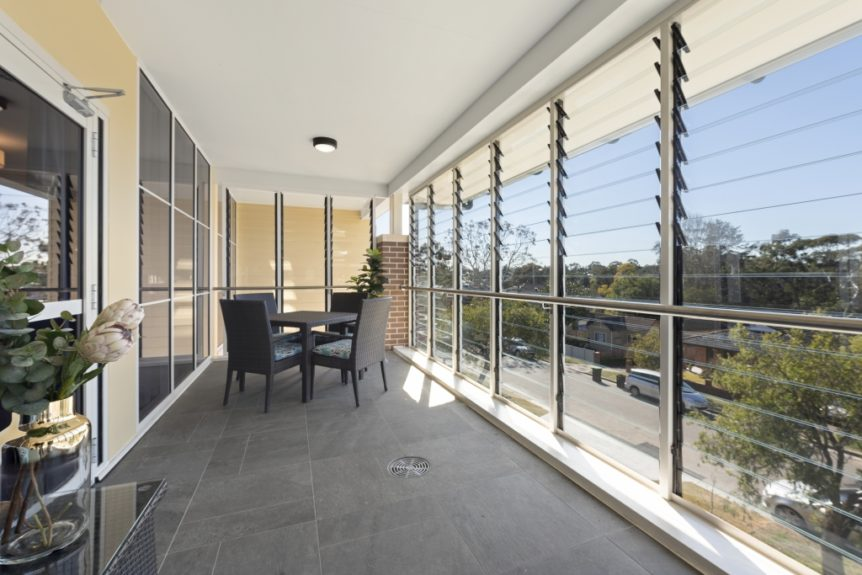 Bankstown Aged Care Yallambee Dementia Facility Balcony