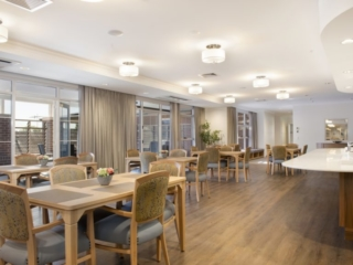 Bankstown Aged Care Yallambee Dementia Facility Dining room