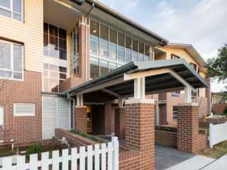Bankstown Aged Care Yallambee Dementia Facility Entrance
