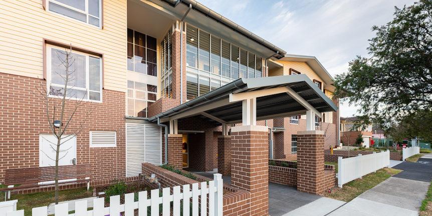Bankstown Aged Care Yallambee Dementia Facility Entrance