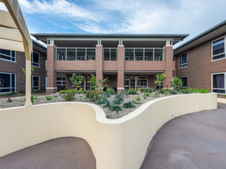Bankstown Aged Care Yallambee Dementia Facility North courtyard